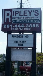 Pokemon go for local business